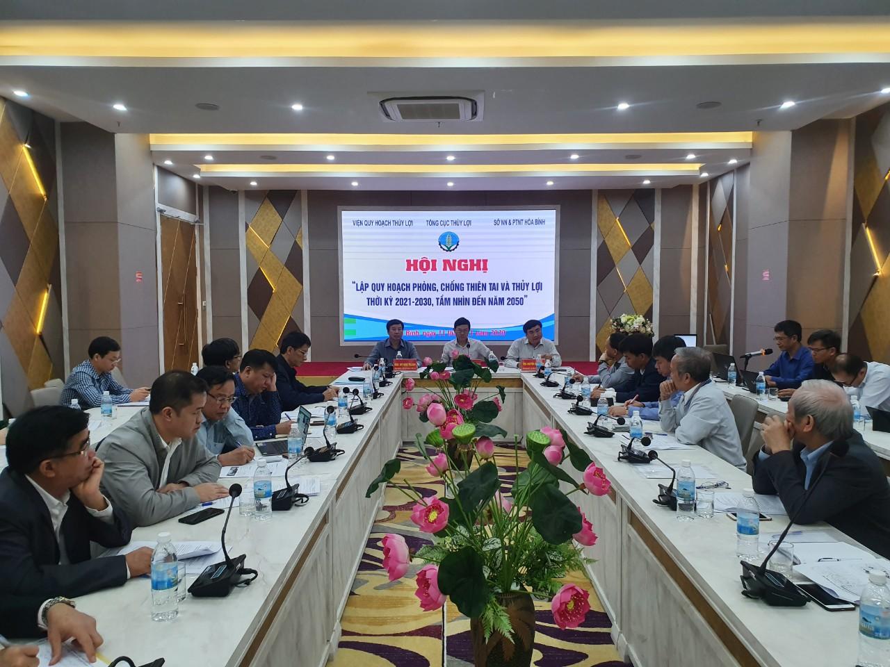 Hội thảo khởi đầu Quy hoạch phòng chống thiên tai, thủy lợi thời kỳ 2021 - 2030, tầm nhìn đến năm 2050 cho khu vực Tây Bắc.