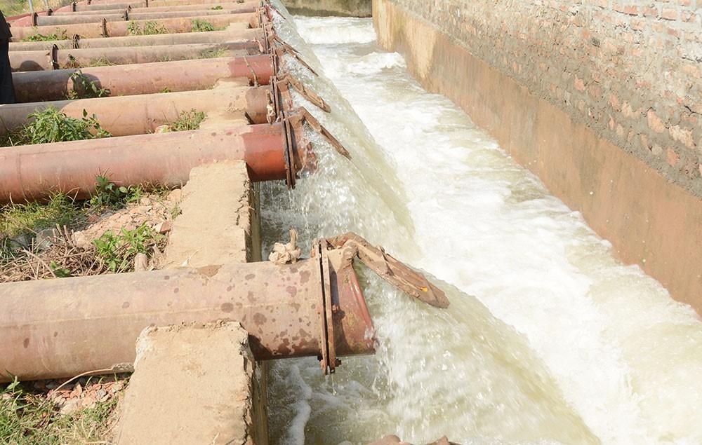 Trên 515.000 ha vụ Đông Xuân đã đủ nước gieo cấy