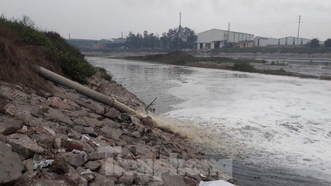 Yêu cầu xử lý tổ chức, cá nhân gây ô nhiễm nguồn nước sông Cầu
